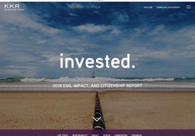 KKR - ESG Initiative