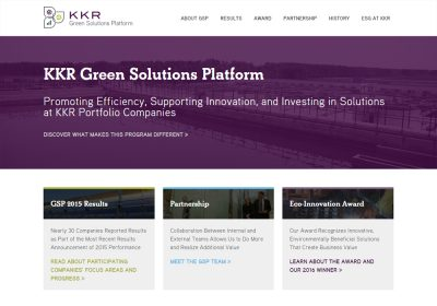 KKR - Green Solutions Platform