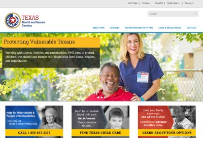 Texas Health and Human Services (HHS)